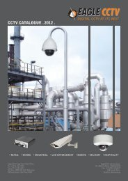 Download Cctv Catalogue 2012 - EAGLE Technology
