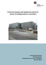 Characterization and optimized control by means of multiparameter ...
