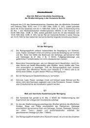 Art der Strassenreinigung - SPD-Ortsverein Bomlitz Bomlitz