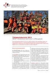 Tätigkeitsbericht 2011 - REDOG