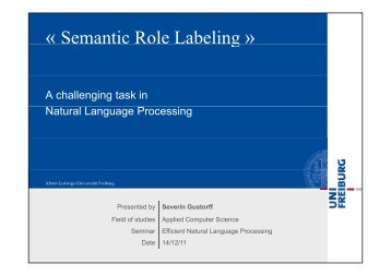 « Semantic Role Labeling »g - ad-teaching.infor...