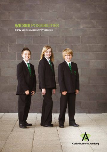 Corby Business Academy Prospectus