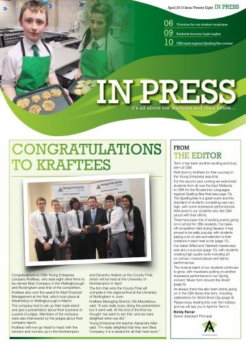Issue 28 - Corby Business Academy