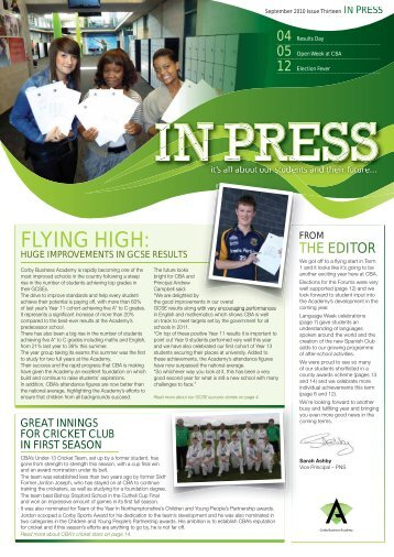 Issue 13 - Corby Business Academy