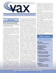 Out/Nov 2007 - GIV - Grupo de Incentivo à Vida