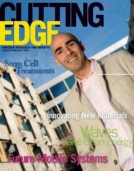 Cutting Edge - Swedish research for growth. - Vinnova