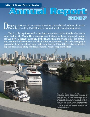 Annual Report - Miami River Commission