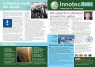 4P Newsletter 3 - Innotec