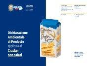Cracker non salati - The International EPD® System