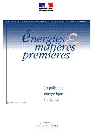 La politique énergétique française