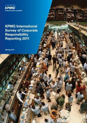 KPMG International Survey of Corporate Responsibility Reporting ...