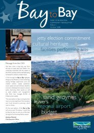 Bay to Bay Newsletter October 2008