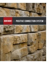 POSITIVE CONNECTION SYSTEM - Storm Water Solutions