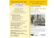 Programm-Flyer (PDF) - EVA-Berlin