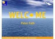 PETER FATH [Schreibgesch\374tzt] - ISC Konstanz