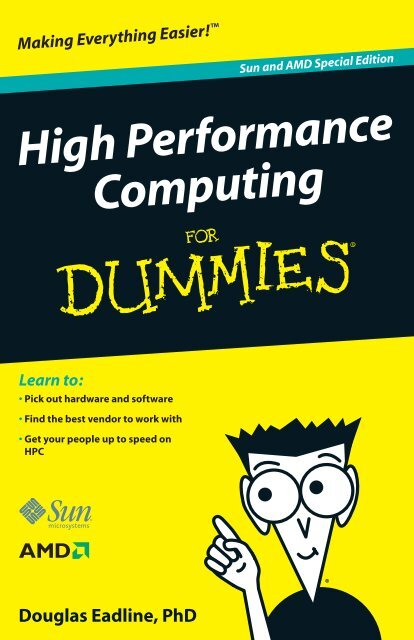 High Performance Computing for Dummies