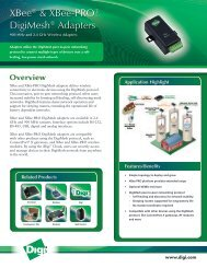 XBee & XBee-PRO DigiMesh Adapters - Digi International