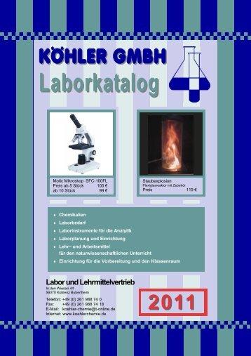Laborbedarf - Köhler