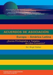 """ACUERDOS DE ASOCIACIÃ""""N Europa - Rosa-Luxemburg-Stiftung"""