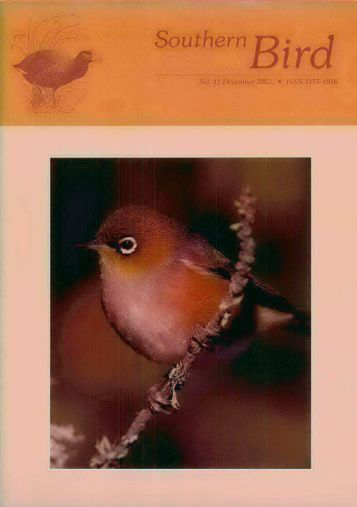 Full Article - Notornis - The Ornithological Society of New Zealand