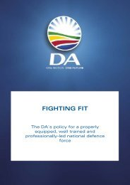 Defence - fighting fit (1).pdf - Democratic Alliance