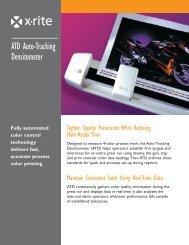 Download Spec Sheet PDF - X-Rite