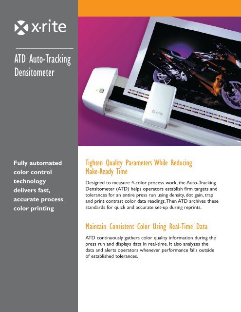 Download Spec Sheet PDF - X-Rite