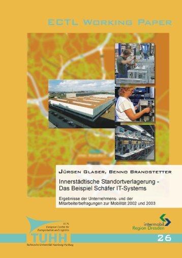 Das Beispiel Schäfer IT-Systems - Institut für Verkehrsplanung und ...