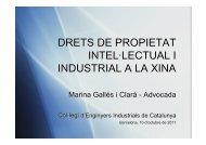 Ponència Marina Gallés - Enginyers Industrials de Catalunya