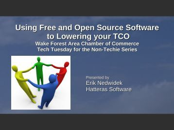 Open Source Software - Wake Forest Chamber of Commerce