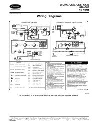 Wiring Diagrams - Carrier