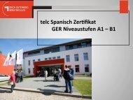 telc Spanisch Zer&fikat GER Niveaustufen A1 – B1 - Erich ...
