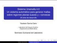 Sistema Unamalla 4.0 Un sistema automático para generar mallas ...