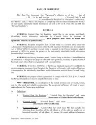 DATA USE AGREEMENT This Data Use Agreement
