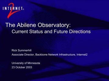 Download slides (pdf 934 KB) - University of Minnesota