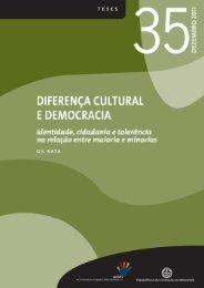 Diferença cultural e democracia. Identidade, cidadania e tolerância ...