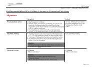 Prüfungsmodalitäten im Fach Sport für Prüfungen ab dem Herbst 2013