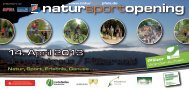 natursportopening - Zentrum Pfälzerwald