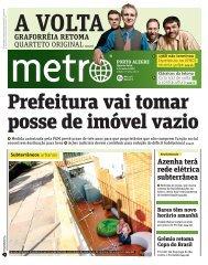 Azenha terá rede elétrica subterrânea - Metro