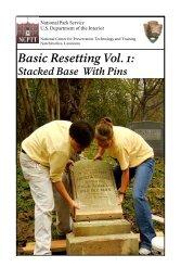 Basic Resetting Vol. 1 - National Center for Preservation Technology ...