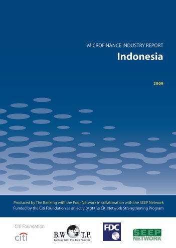 Microfinance Industry Report: Indonesia - Banking with the Poor ...
