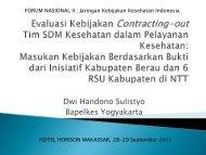 B1Dwi Handono.pdf - Kebijakan Kesehatan Indonesia