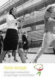 move europe - Országos Egészségfejlesztési Intézet