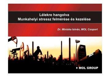 A MOL Nyrt. munkahelyi lelki egészségfejlesztési jó gyakorlata