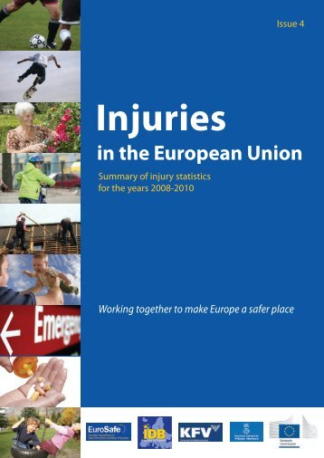 Summary of injury statistics for the years 2008-2010 - European ...