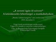 Vajger Éva és Virág László előadása: