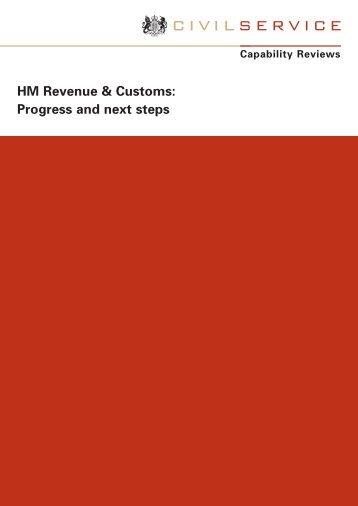 HM Revenue & Customs: Progress and next steps - The Civil Service