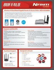 Wireless-N Dual Band Gigabit Router & Access Point ... - tastarsupply