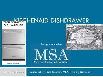 MSA KA Dishdrawer 2008 (MTG) - MSAWorld.com
