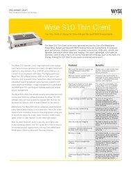 Wyse S10 Thin Client - Viglen